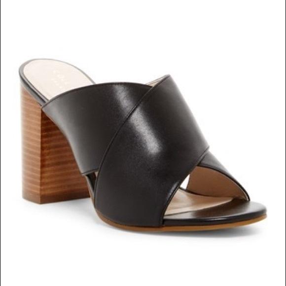 ae45a444b5c4 Cole Haan Shoes - Cole Haan Trista II Block Heel Sandal